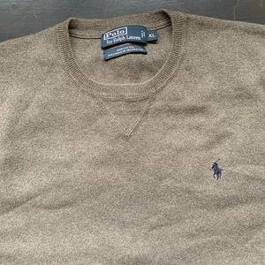 Polo by Ralph Lauren Crew neck sweater XL grey